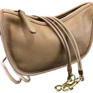 COACH Leatherware Vintage Bag Crescent Purse USA